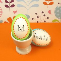 Bright Ideas: Creative Easter Eggs  #Easter #Eggs: 28 Decorating and Fun Ideas
