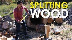How to Split Wood [VIDEO]