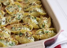 Spinach, Mushroom, & Ricotta Stuffed Shells