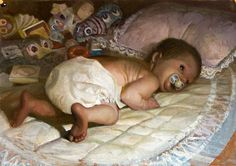 Small child (infant) // Vincent desiderio