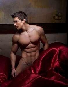 Sexy men beautiful fitness models, male fitness, the color red, guy, steve grand, hot, men, red rooms, country stars