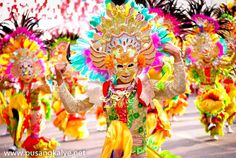 The Colorful Maskara Festival in the Happy City of Bacolod, Philippines