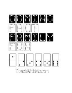 Classroom Freebies: Fact Family Domino Packet