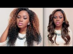 Achieve Beyonce's Hairstyles| Celeb Inspired Collab With Lipsh0ck & Aymonegirl wig