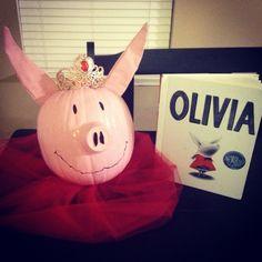 Book Character Pumpkin Decorating!! Olivia!!!