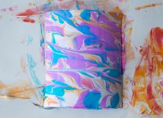 DIY Marbled Paper -