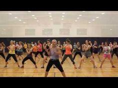 Zumba Workout on Youtube. Playlist.
