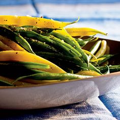 Easter Side Dishes | Herbed Green and Wax Beans | CookingLight.com