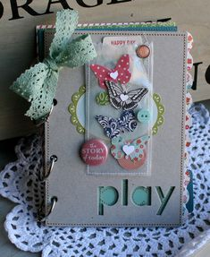Danni Reid shares some projects using confetti pockets