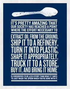 kitchens, reuse recycle, plastic spoons, poster, thought, cutlery, homes, people, paper plates