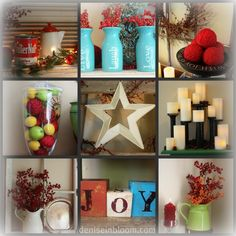 12 Ways Of Christmas Mantle Decorating Ideas