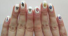 midrash manicur, holiday, nail art designs, hanukkah nail, decals