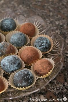 Tartufini al cioccolato - In Cucina con Me