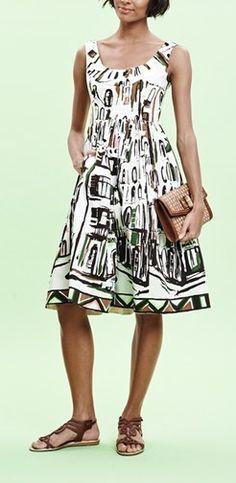 Such a cute kate spade new york stretch cotton dress