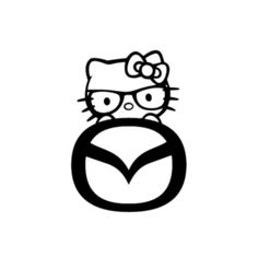 OMG!! mazda decal cute mazda car window decal mazda sticker by RIVinyl, $3.25