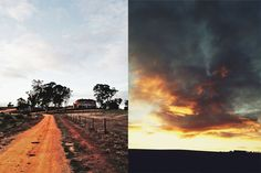 Kingsford Estate, Gawler, South Australia at dusk. A beautiful place!
