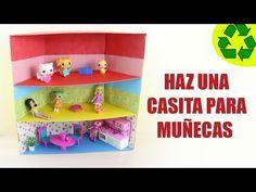 Manualidades: Haz una mini casita para tus muñecas y mascotas LPS