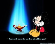 You're free now, Genie ... there will never be a another friend like you! :(