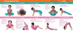 Fun and Creative Kid's Yoga Poses