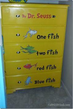 One Fish Two Fish DIY Dresser