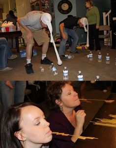Family Minute to Win It Games via- McBride Family
