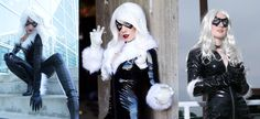 With Halloween quickly approaching, have a selection of the Black Cat Cosplayers from across the country! Left to right is Amanda, Caitlyn, & Juli. Each lady has been cosplaying for several years, are avid comic fans, and have interesting day jobs!    Photos by Eurobeat Kasumi, Simmagination Photography & Ljinto.    Marvel's use of all photos are governed by the Marvel.com Terms of Use and Privacy Policy. We are no longer accepting cosplay submissions for Costoberfest 2012!