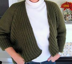 Knitting Patterns For Chunky Weight Yarn : knit chunky yarn patterns on Pinterest Jacket Pattern, Sweater Patterns and...