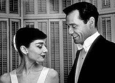 Audrey Hepburn and Mel Ferrer photographed by Bill Avary, 1954