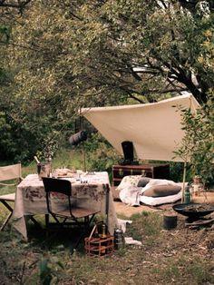 picnic campsite