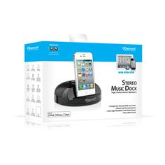 Naztech N27 Apple Certified Stereo Music Dock for iPhone iPod & iPad
