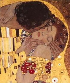 The Kiss by Klimt.   my  fave
