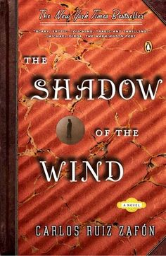 Shadow of the Wind...a booklover's mystery.