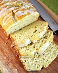 Lemon Zucchini Bread - Like Mother, Like Daughter