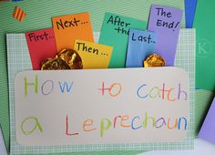 how to catch a leprechaun by Katherine Marie Photography