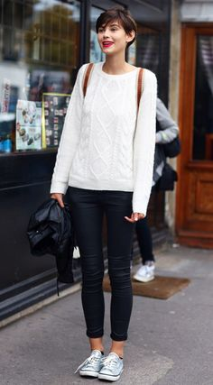 Parisian casual - love this look!