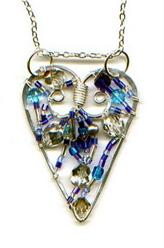 Four Sweet DIY Wire & Hearts Jewelry Patterns