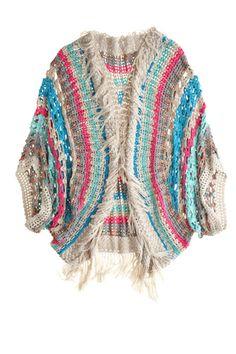 Javiera Crochet Cardigan