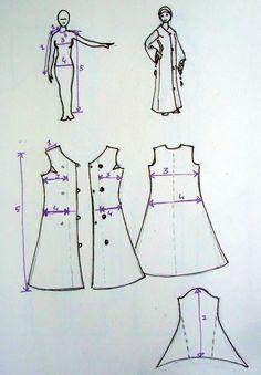 abaya diy sewing pattern