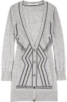 ShopStyle: Diane von Furstenberg Goslar beaded cardigan