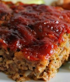 Zucchini Meatloaf - Recipe, Healthy Cooking, Main Dish, Ground Turkey