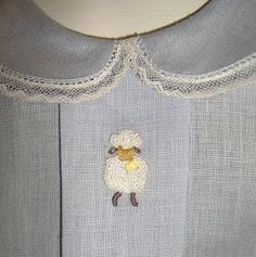Bullion knot sheep