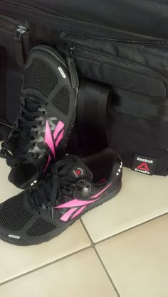 @Reebok crossfit shoes and bag! love it. #rbkfitblog #fitfluential