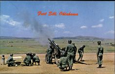 Image detail for -Army Training Center Fort Sill Oklahoma