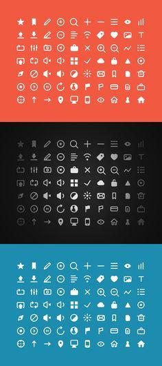 70 Free Icons - Get 'em!
