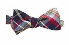 Alton Brown's tartan sauce bowtie by Hook + Albert