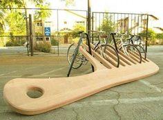 Aparcamiento de bicicletas!