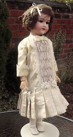 """Beautiful Large Armand Marseille Germany 390n Doll / Puppe 25"""" tall c1900s"""