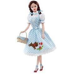 Mattel Barbie Collector Wizard of Oz Vintage Dorothy Doll