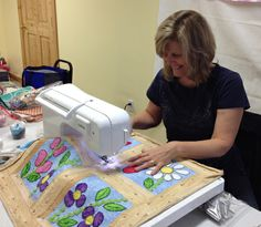 One Machine Quilter's Story today on Quilty Pleasures will encourage you!