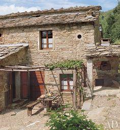 italian rustic decor | Rustic Italian Villas : Architectural Digest